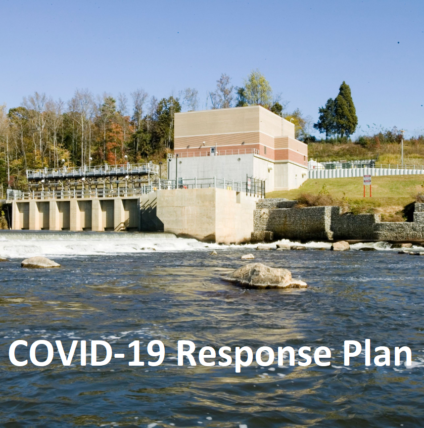 COVID-19 Response Plan - Swann intake on Yadkin River