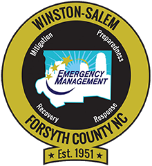 Emergency Management logo and badge