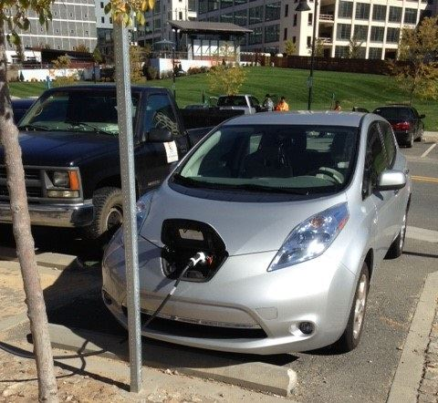 Electric Vehicle Charge Station at Bailey Park Area on Patterson Avenue