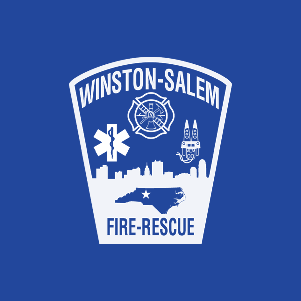 Winston-Salem Fire Department logo and patch