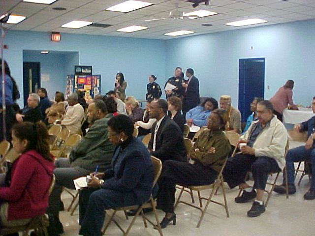Audience at Forum Two at Southside Baptist Church (JPG) Opens in new window