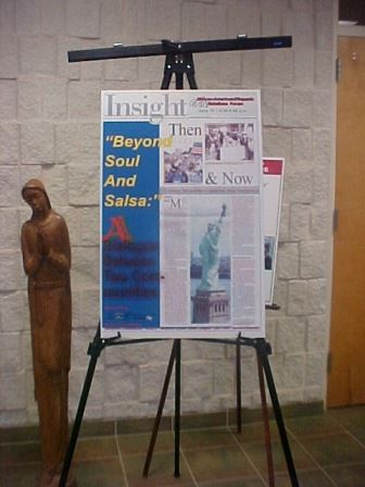 Poster at Forum Four at the Emmanuel Baptist Church (JPG) Opens in new window